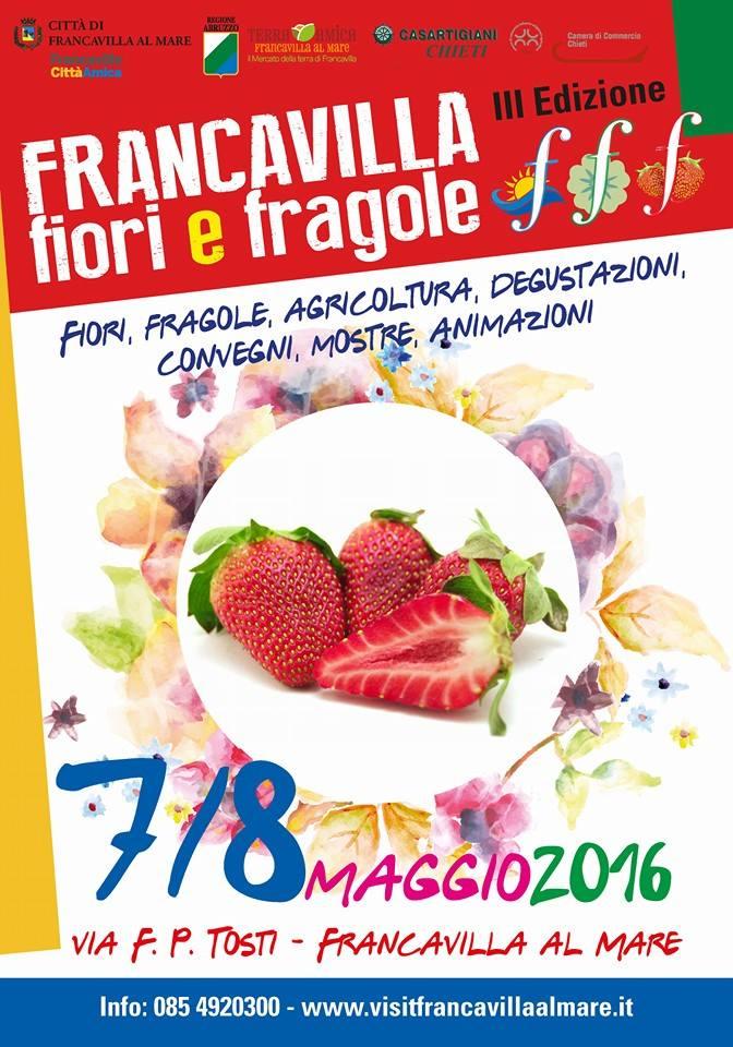 """A Francavilla al mare """"Fiori e fragole"""""""