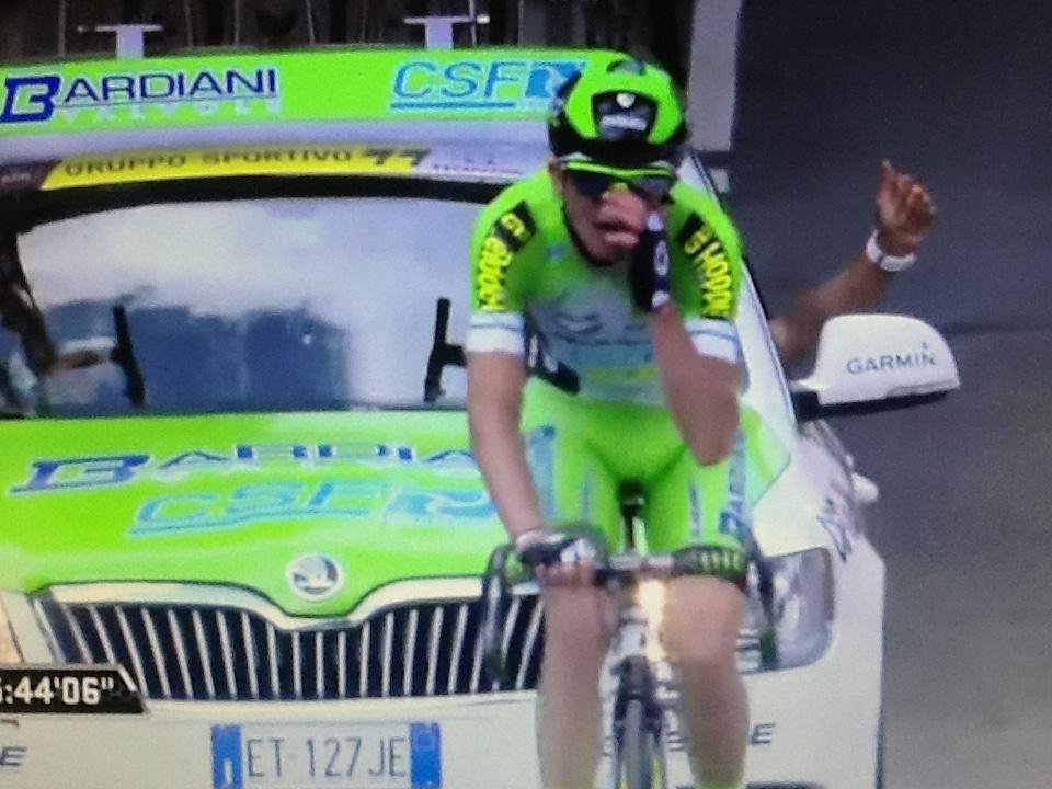 Giro d'Italia: Ciccone, che impresa!