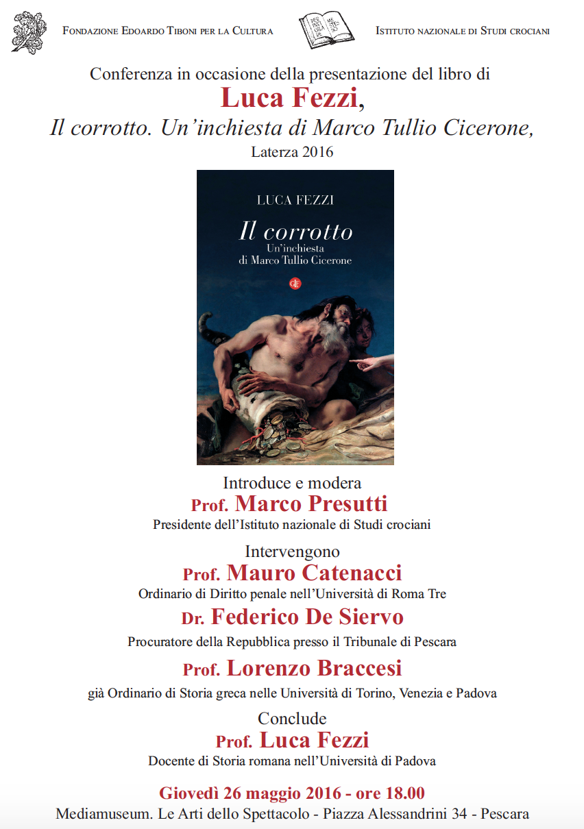 Mediamuseum Pescara: Cicerone dal tribunale alla politica