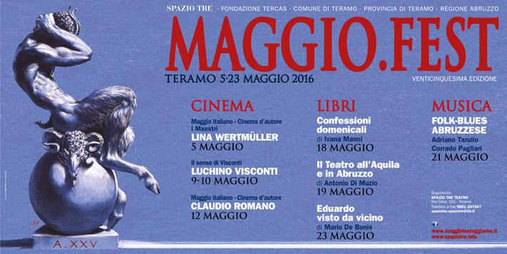 Maggio.Fest Teramo: appuntamenti conclusivi