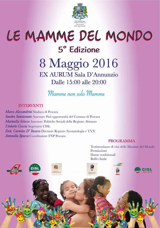 Mamme nel mondo a Pescara