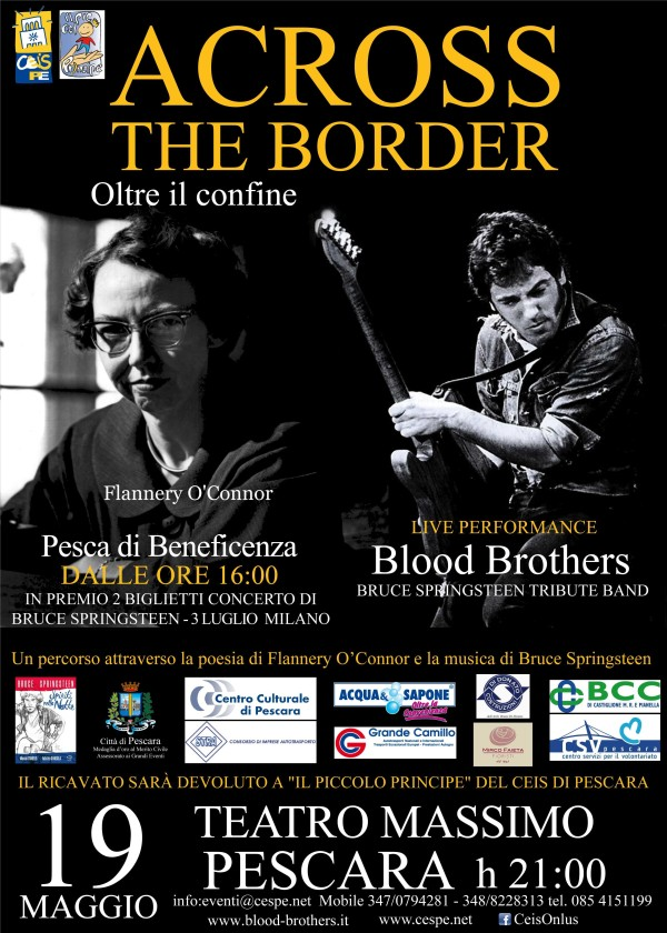Across The Border a Pescara: Recital su Springsteen e la O'Connor