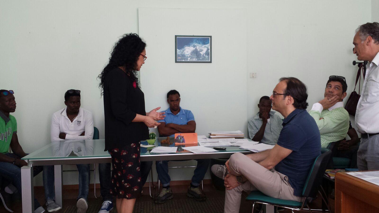 Migranti impegnati in lavori socialmente utili a Pescara