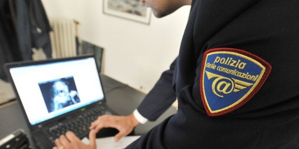 Pescara, uomo arrestato per pedopornografia