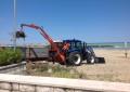 Pulizia delle spiagge a Montesilvano
