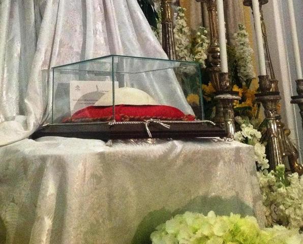 Folla di fedeli per le reliquie di Papa Wojtyla a Pescara