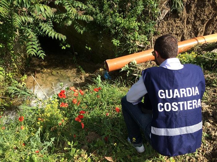 Fiume Pescara: Guardia Costiera sequestra altro impianto