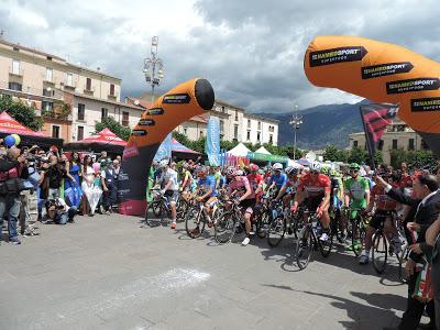 Giro d'Italia – La carovana rosa ha lasciato l'Abruzzo