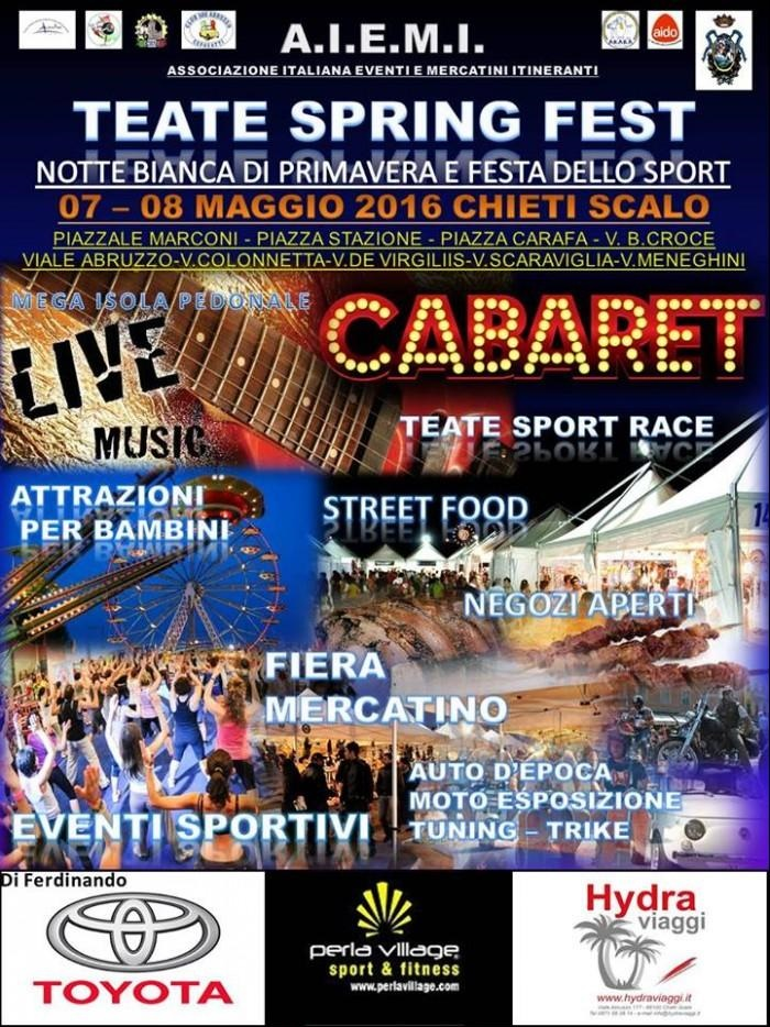 Teate Spring Fest 2016 a Chieti Scalo