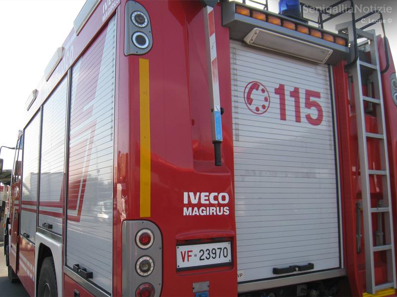 Giulianova: incendio in una villetta all'Annunziata