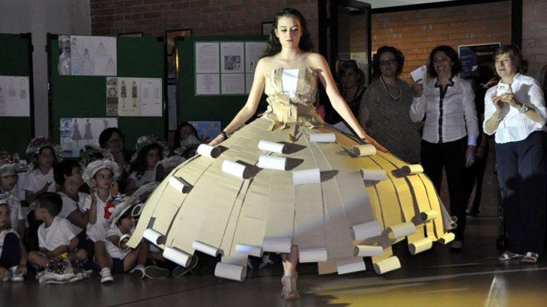 Pescara a scuola con crearte riciclare con stile for Scuola di moda pescara