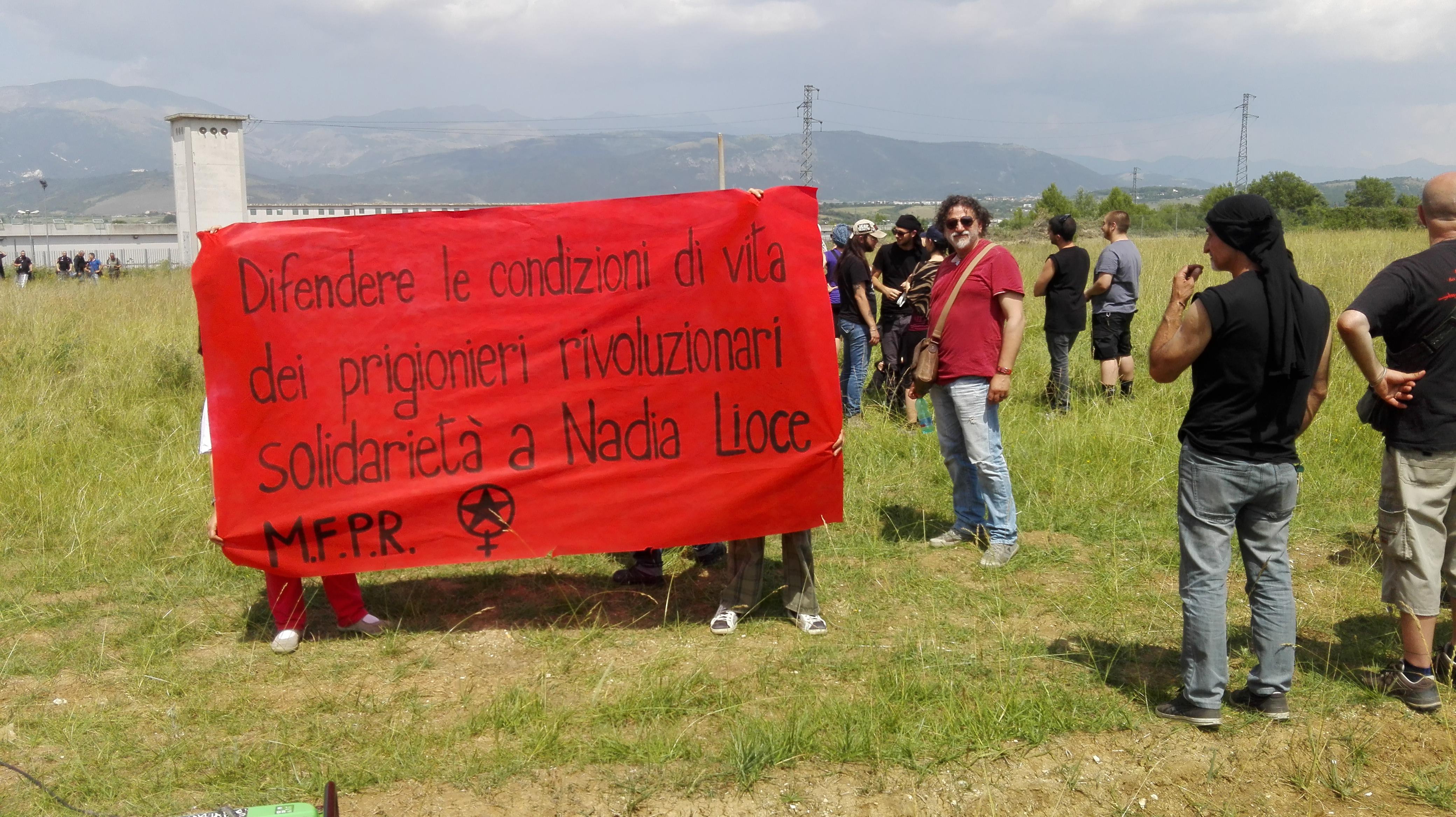 L'Aquila, da tutta Italia per dire no al carcere duro