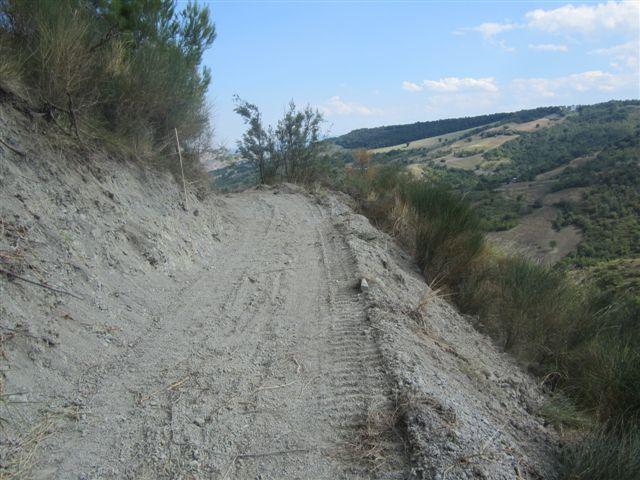 Pennapiedimonte: Cfs sequestra strada in area vincolata