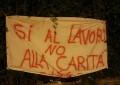 Vertenza Attiva, nella notte tre striscioni a Pescara