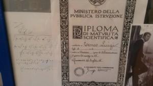 Il diploma di maturità scientifica