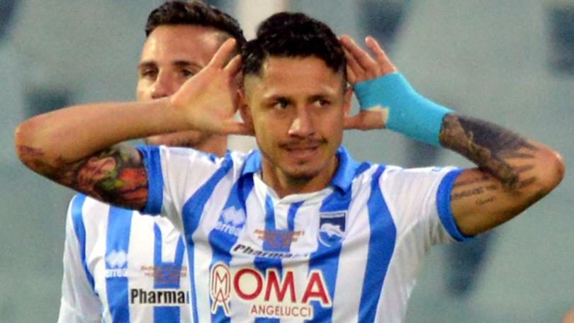 "Pescara calcio. Lapadula ""Grazie a tutti"""