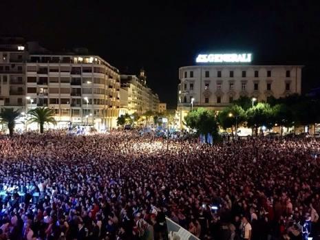 Pescara calcio serie A: i dettagli della festa