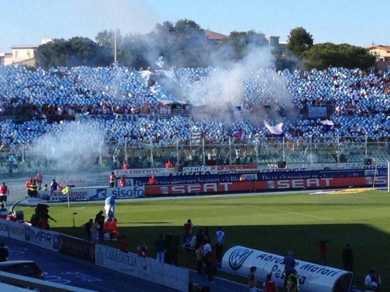 Pescara calcio, i prezzi dei biglietti in campionato