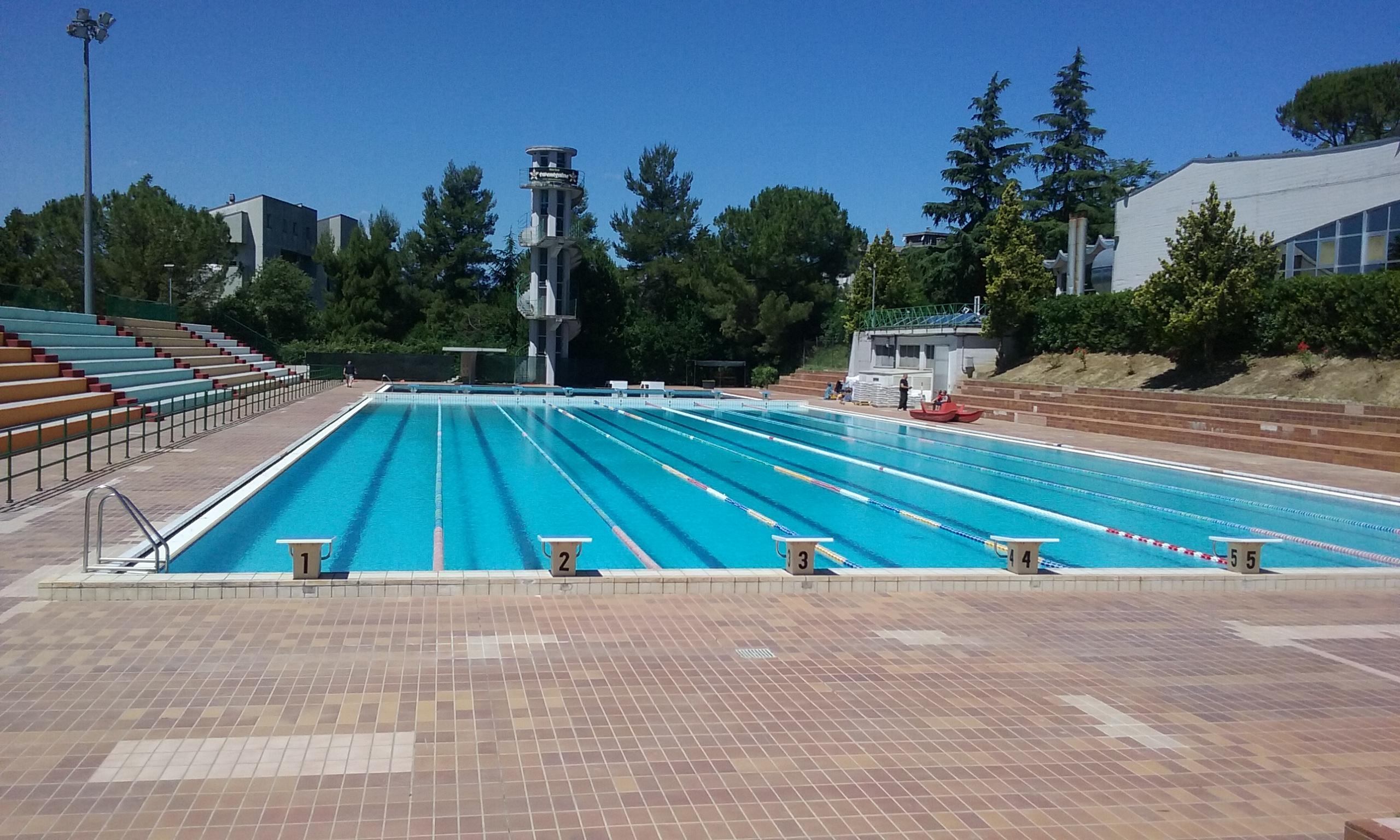 Chieti inaugurate le piscine esterne dello stadio del nuoto - Piscine dello stadio ...