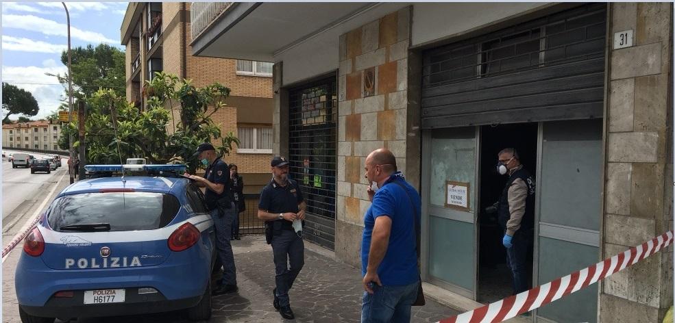 Teramo: Un cadavere in Via De Gasperi, forse overdose