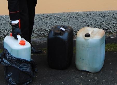 Tentato furto gasolio: arrestati tre romeni