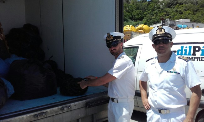 Guardia Costiera Ortona: Sequestrata una tonnellata di mitili