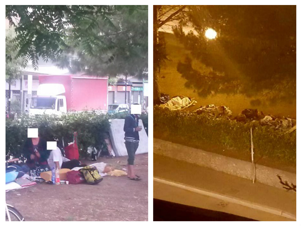 Pescara: terminal bus dormitorio per disperati