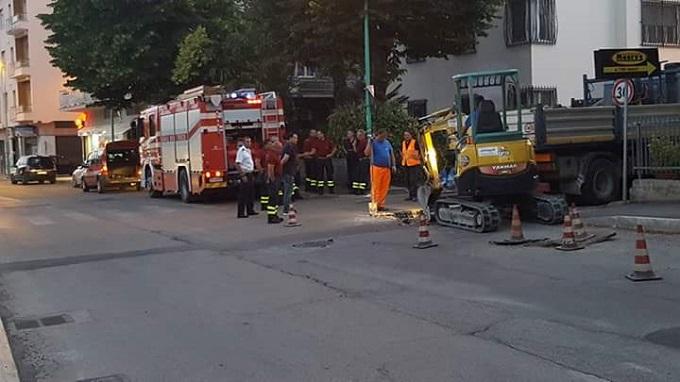 Sospetta fuga di gas in Via del Circuito a Pescara