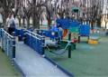 Giochi inclusivi al parco Mafalda di Savoia a Pescara