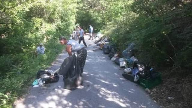 Celano, rifiuti per tre tonnellate raccolte nella giornata ecologica