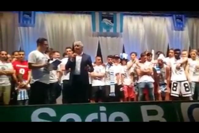 Serie A Pescara – La città abbraccia la squadra