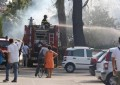 Silvi, le fiamme minacciano alcune abitazioni
