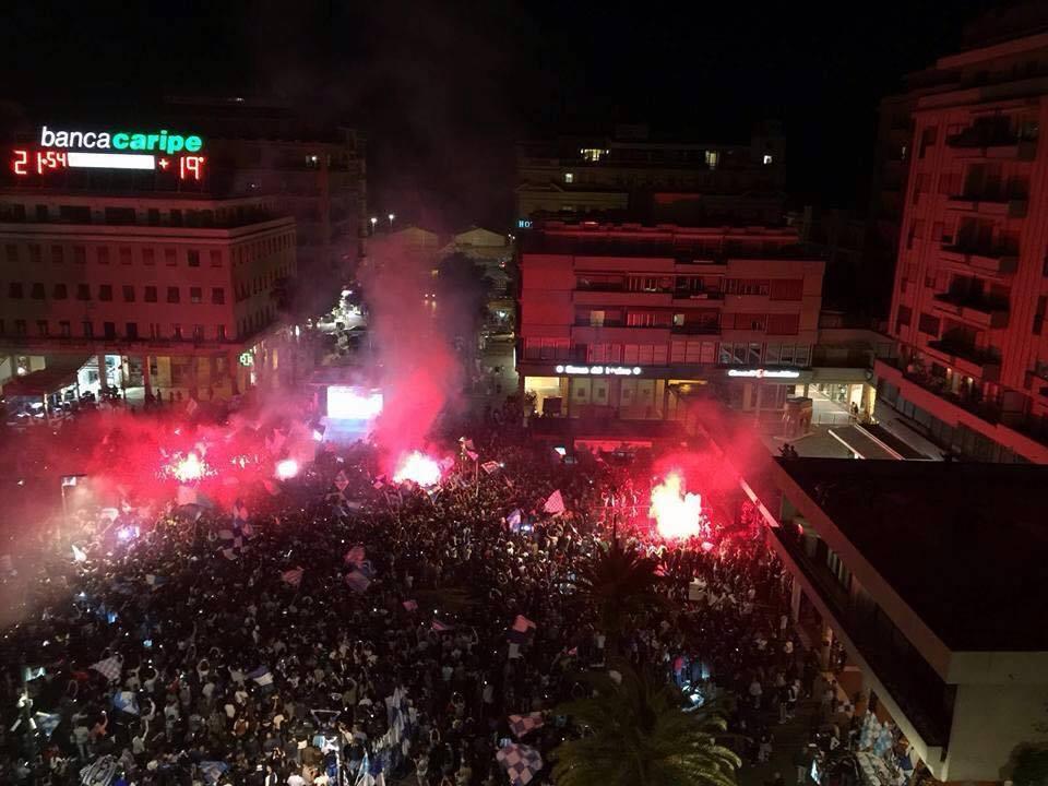 Serie A Pescara – Le emozioni di una città in festa