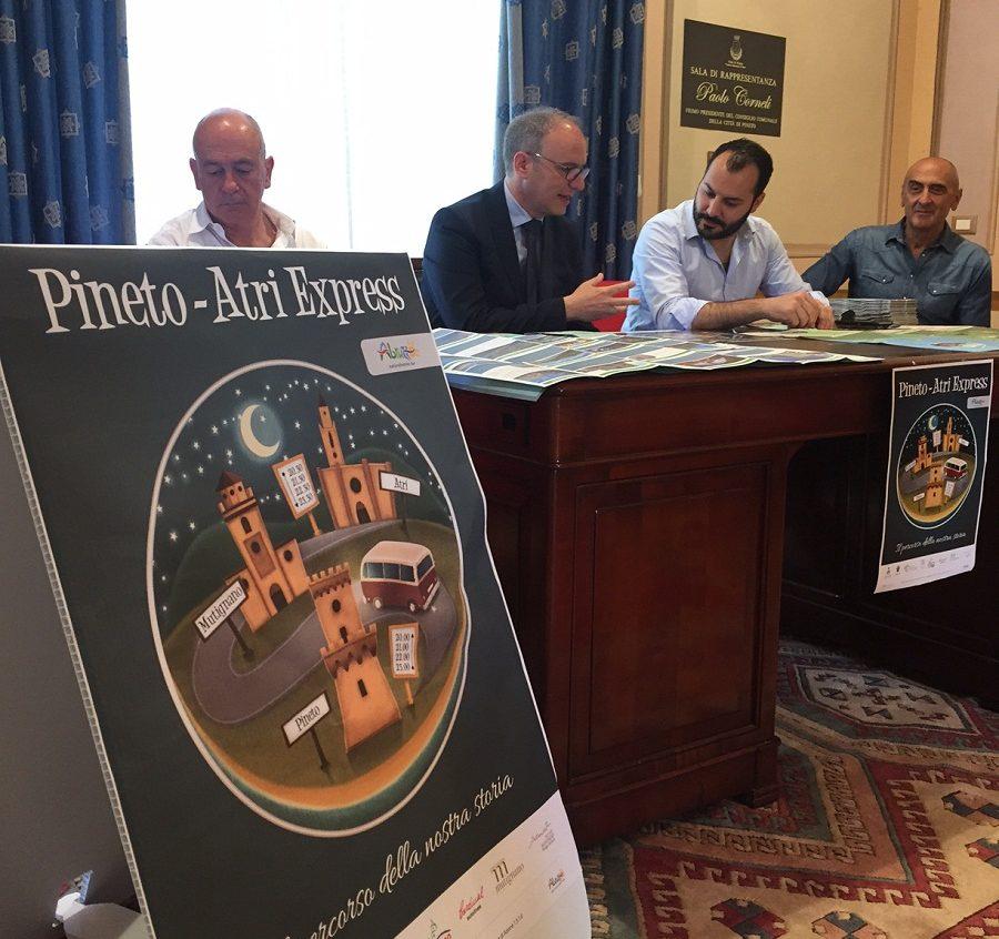 Pineto-Atri express attivo per tutta l'estate