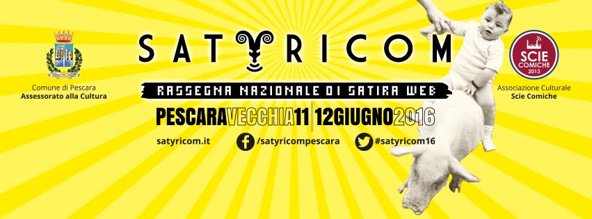 Pescara: Satyricom, rassegna nazionale del Web