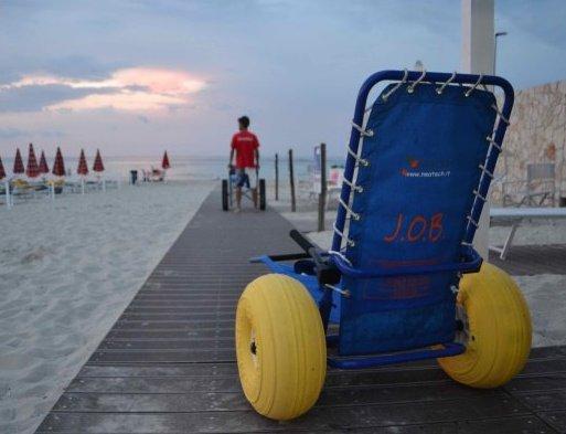 Proposta di legge per accessibilità spiagge diversamente abili