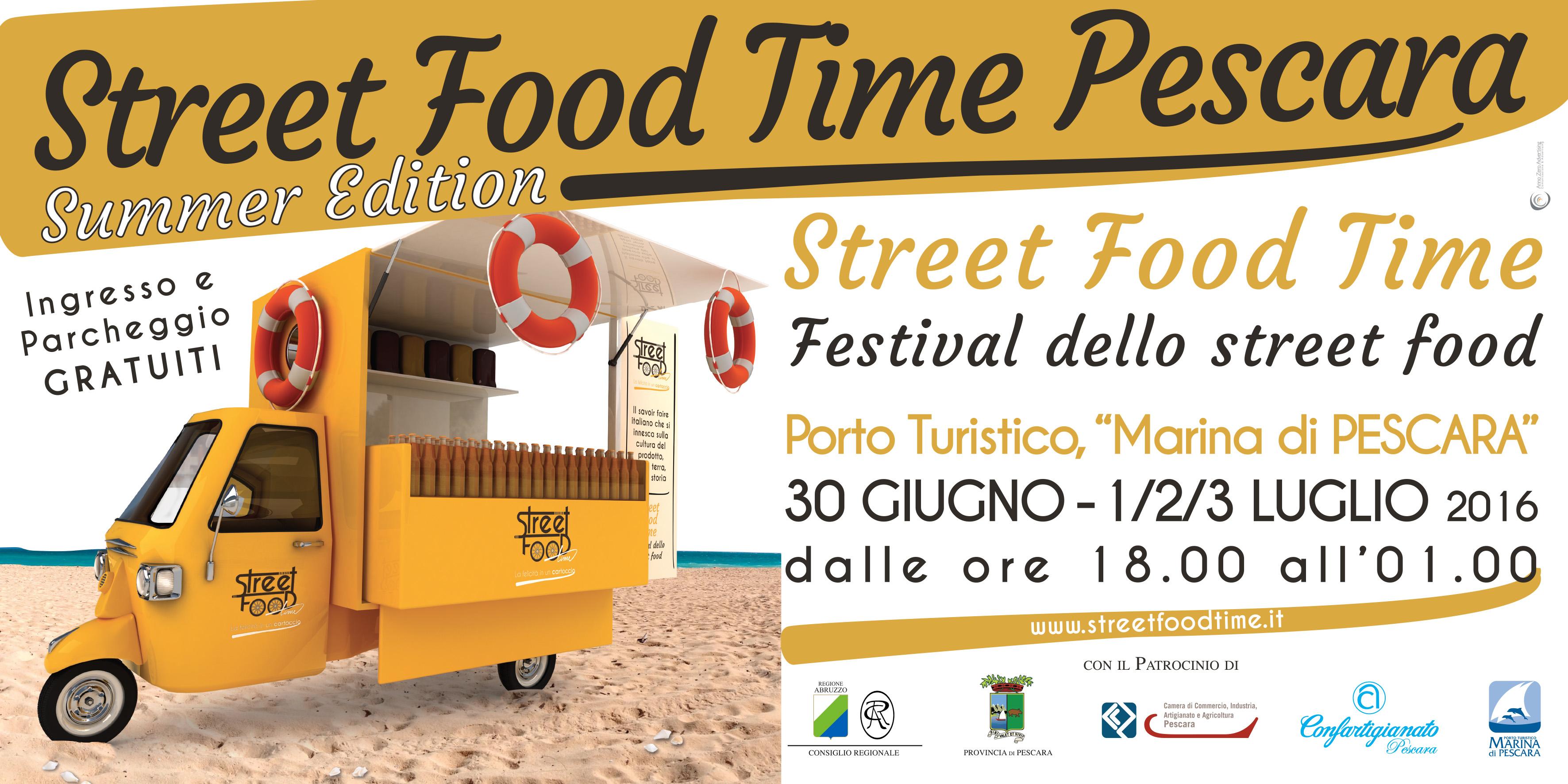 Street Food al Marina di Pescara