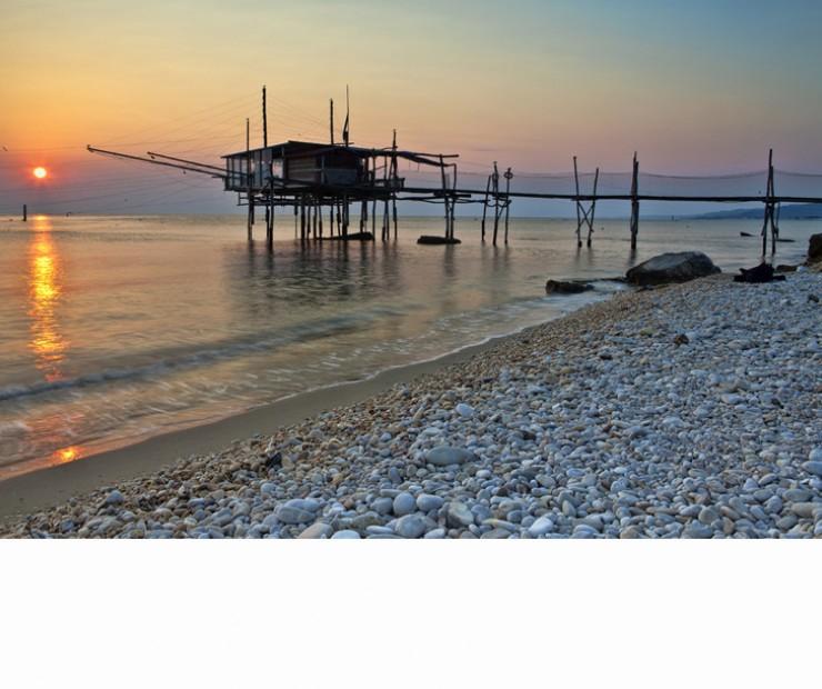 """Trabocco di Punta Turchino: Pepe """"emblema della costa abruzzese"""""""