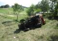 Ari: si ribalta col trattore, è grave