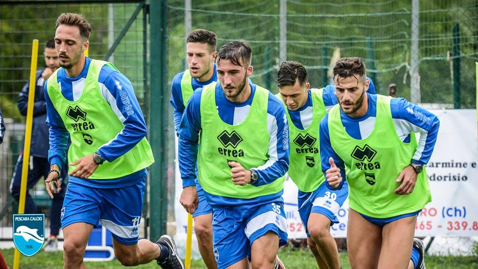 Pescara Calcio, news dal ritiro