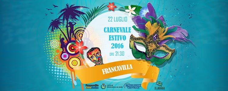 Francavilla, sfila il Carnevale estivo