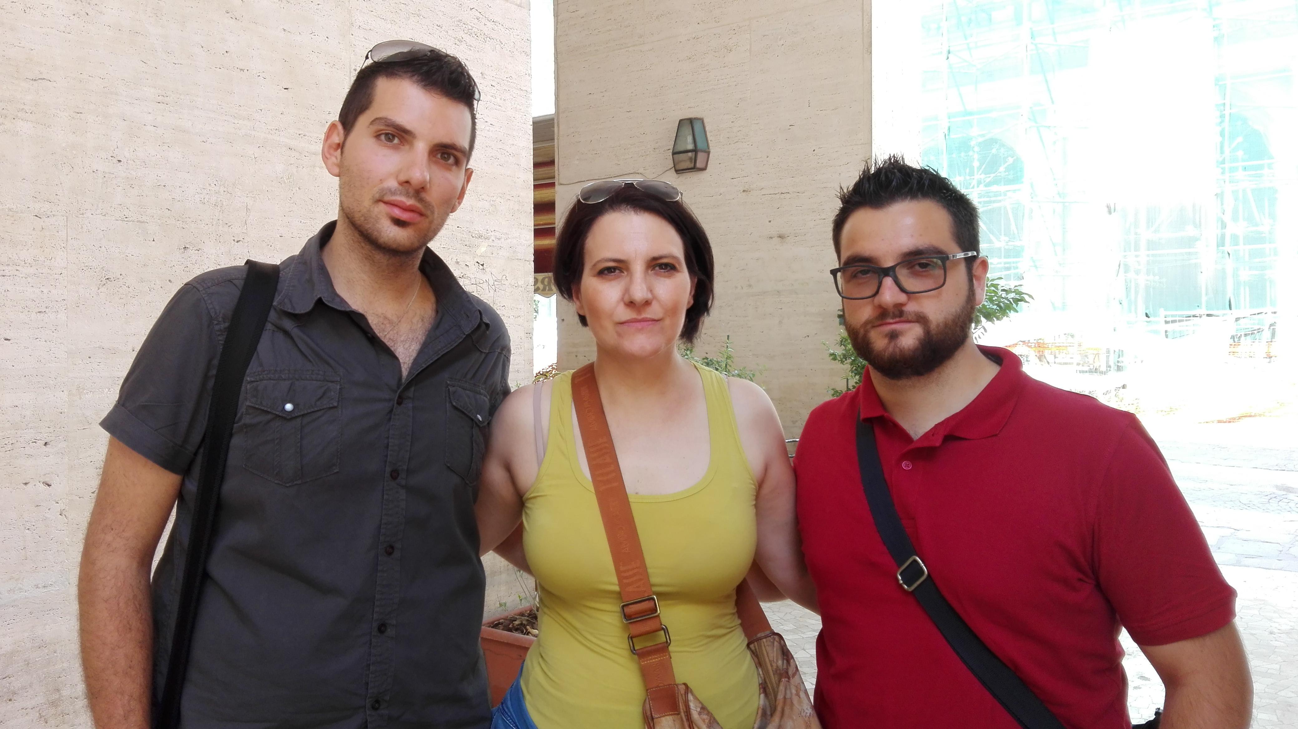 L'Aquila, Globe network: la rabbia dei lavoratori in ferie forzate