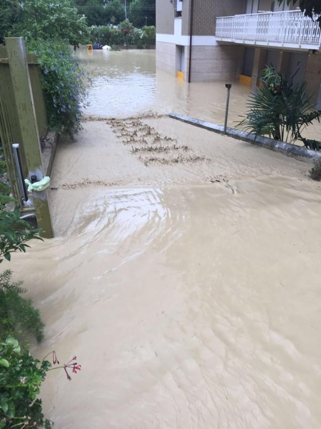 Maltempo: Pineto chiede stato di calamità
