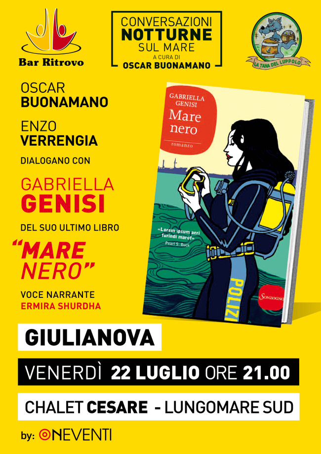 Giulianova: Conversazioni notturne sul mare