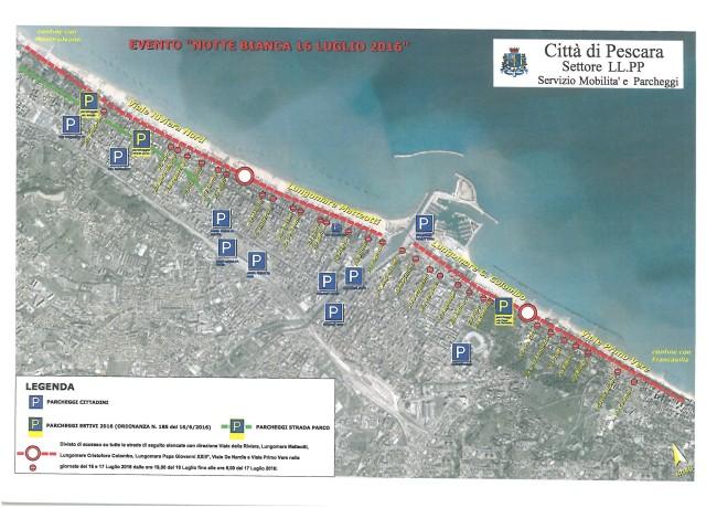 Pescara: Il maltempo non ferma la Notte Bianca dell'Adriatico