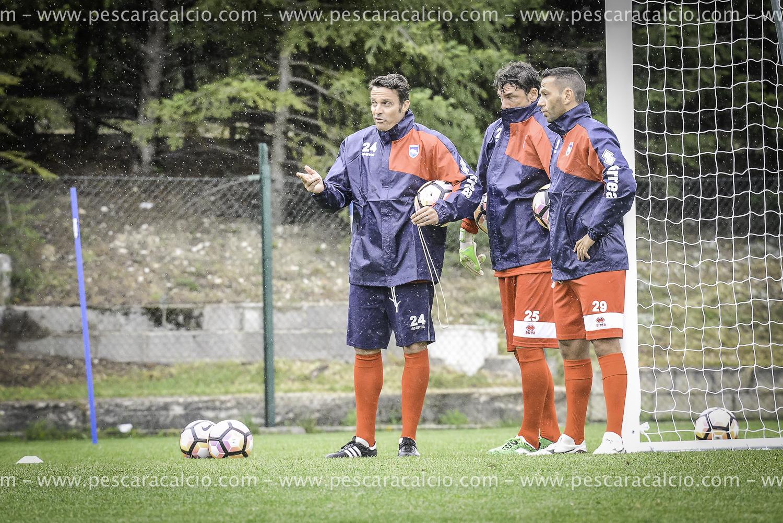 Pescara calcio, Leskovic ok