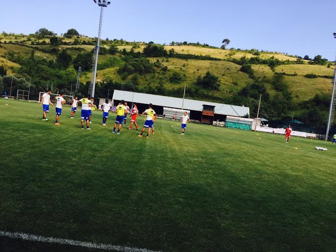 Pescara calcio, secondo giorno di ritiro a Palena