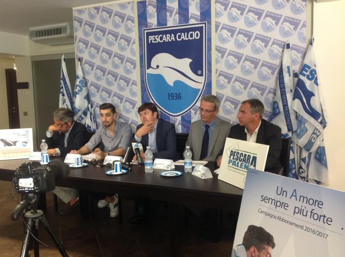 Pescara calcio abbonamenti: al via la vendita libera