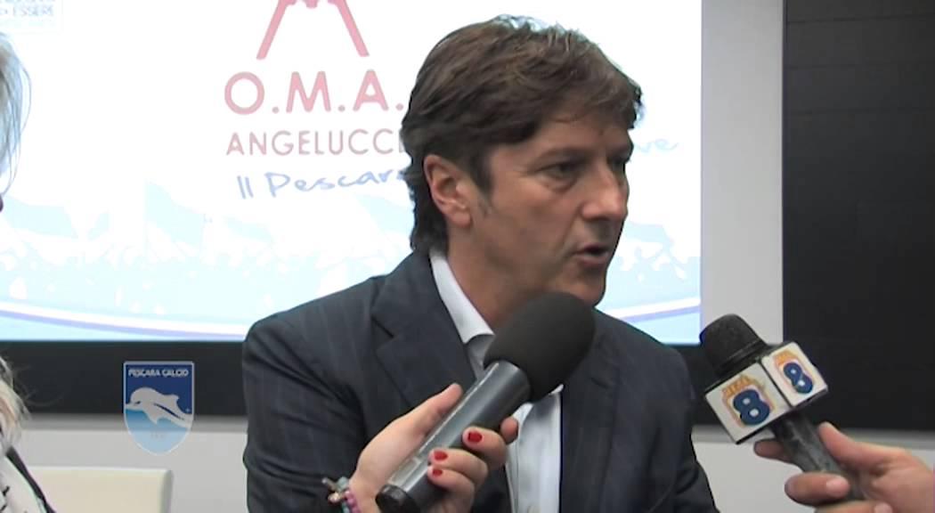 Pescara calcio Oma, partnership rinnovata