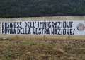 "Lanciano: striscione CasaPound, no ""business"" immigrati"